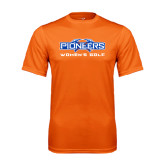 Performance Orange Tee-Womens Golf
