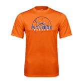 Performance Orange Tee-Soccer Ball Design
