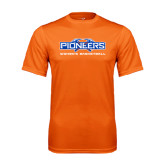 Performance Orange Tee-Womens Basketball
