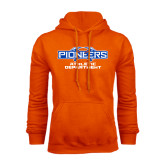 Orange Fleece Hoodie-Athletic Department