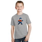 Youth Grey T-Shirt-Mascot