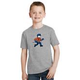 Youth Grey T-Shirt-Mascot