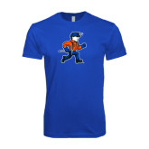 Next Level SoftStyle Royal T Shirt-Mascot