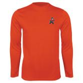 Performance Orange Longsleeve Shirt-Mascot