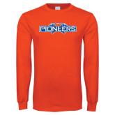 Orange Long Sleeve T Shirt-Official Logo