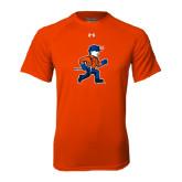 Under Armour Orange Tech Tee-Mascot