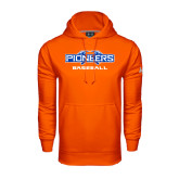 Under Armour Orange Performance Sweats Team Hoodie-Baseball