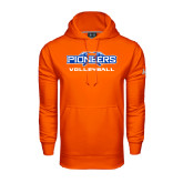 Under Armour Orange Performance Sweats Team Hoodie-Volleyball