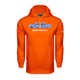 Under Armour Orange Performance Sweats Team Hoodie-Softball