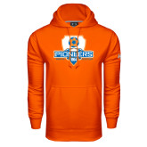 Under Armour Orange Performance Sweats Team Hoodie-Mens Soccer Shield