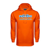 Under Armour Orange Performance Sweats Team Hoodie-Pioneers Basketball