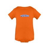 Orange Infant Onesie-Official Logo