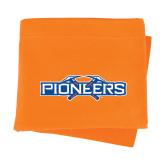 Orange Sweatshirt Blanket-Official Logo