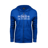 ENZA Ladies Royal Fleece Full Zip Hoodie-Mens Soccer