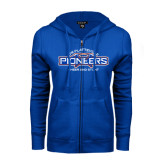 ENZA Ladies Royal Fleece Full Zip Hoodie-Cheer and Stunt