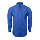 Mens Royal Oxford Long Sleeve Shirt-Mascot