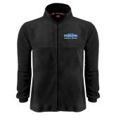 Fleece Full Zip Black Jacket-Womens Soccer