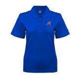 Ladies Easycare Royal Pique Polo-Mascot