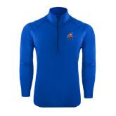 Sport Wick Stretch Royal 1/2 Zip Pullover-Mascot