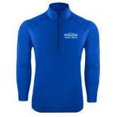 Sport Wick Stretch Royal 1/2 Zip Pullover-Womens Soccer