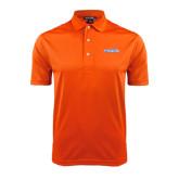 Orange Dry Mesh Polo-Official Logo