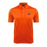 Orange Dry Mesh Polo-Mascot
