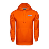 Under Armour Orange Performance Sweats Team Hoodie-Official Logo