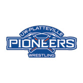 Medium Magnet-Pioneers Wrestling, 8 in Wide
