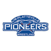 Large Magnet-Pioneers Wrestling, 12 in Wide