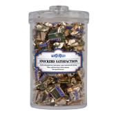 Snickers Satisfaction Large Round Canister-Official Logo