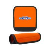 Neoprene Orange Luggage Gripper-Official Logo