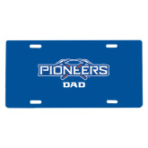 License Plate-Dad