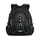 Wenger Swiss Army Mega Black Compu Backpack-Official Logo