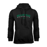Black Fleece Hoodie-Arched William Peace University
