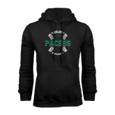 Black Fleece Hoodie-Baseball Seams Design