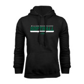 Black Fleece Hoodie-Softball Bar Design