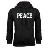 Black Fleece Hoodie-PEACE