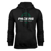 Black Fleece Hoodie-Pacers Volleyball Stacked