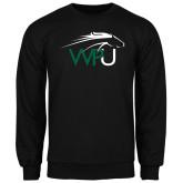 Black Fleece Crew-WPU Primary Mark
