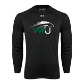 Under Armour Black Long Sleeve Tech Tee-WPU Primary Mark