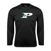 Performance Black Longsleeve Shirt-P w/Pacer