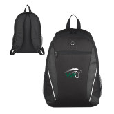 Atlas Black Computer Backpack-WPU Primary Mark