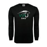 Black Long Sleeve TShirt-Dad