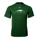 Under Armour Dark Green Tech Tee-Pacer Head
