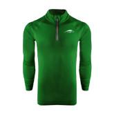 Under Armour Dark Green Tech 1/4 Zip Performance Shirt-Pacer Head