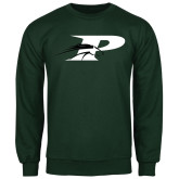 Dark Green Fleece Crew-P w/Pacer