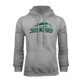 Grey Fleece Hoodie-Arched Pacer w/ Pacer