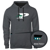 Contemporary Sofspun Charcoal Heather Hoodie-P w/Pacer