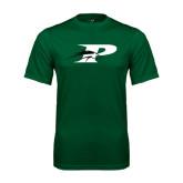Performance Dark Green Tee-P w/Pacer