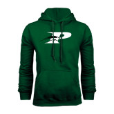 Dark Green Fleece Hood-P w/Pacer